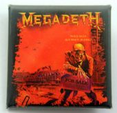 Megadeth - 'Peace Sells' Square Badge